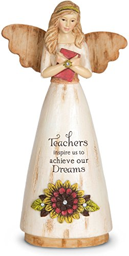 Pavilion Gift Company 03013 Teacher Angel Figurine, 6-Inch