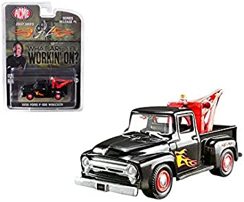 Greenlight 1:64 ACME Exclusive Gearz Stacey David/'s 1956 FORD F-100 WRECKER Tow