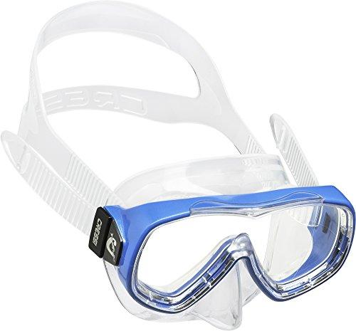 Childs Swim Mask - Cressi Piumetta, clear/azure