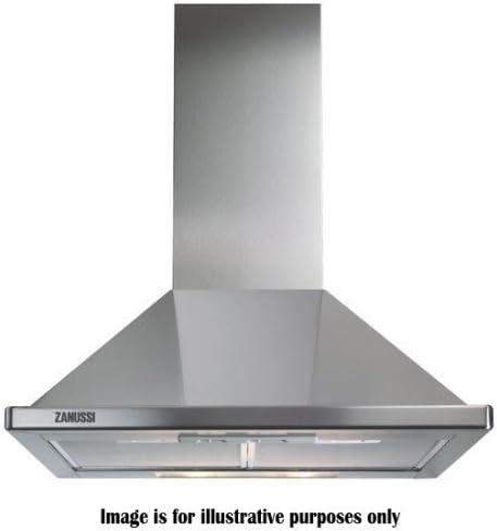 Zanussi ZHC60136X - Campana de chimenea (60 cm, acero inoxidable): Amazon.es: Grandes electrodomésticos