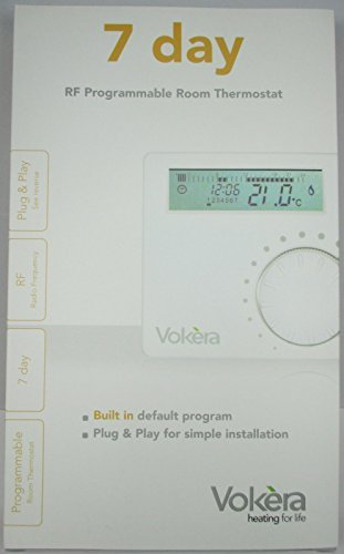 Vokera Wireless Rf Programmable Room Thermostat With 7 Day Clock