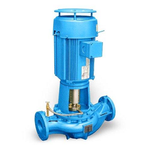 (Barmesa Pumps 60400173 Vertical in-Line Pumps BVL, 3 x 3 x 6, 1 hp, 3 Phase, 6 Pole, 145TC Frame, Cast Iron/Steel)