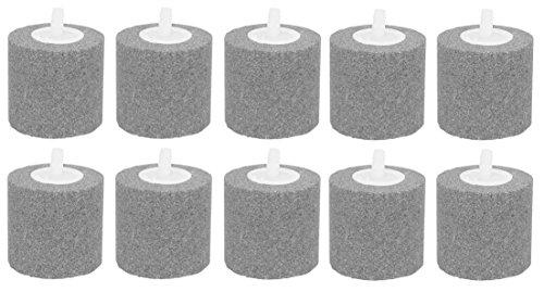 Ecoplus Medium Round Air Stone Diffuser, 10 Pack (Stone Air Round Medium)