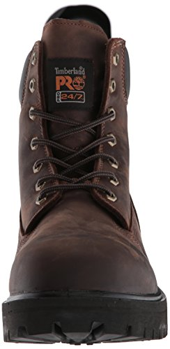 Timberland Pro Mens Direct Attach Zes-inch Soft-teen Laars Bruin Geolied Full-grain