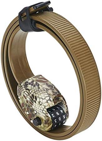 Combination Otto Lock With Kevlar Steel Hexband Ti Grey or Cinch Camo 30 or 60