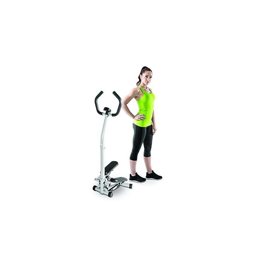 Marcy Home Cardio Exercise Mini Stepper with Handle and Display MS 95