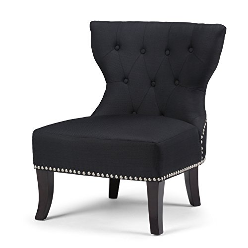 Black Accent Chairs Amazon Com