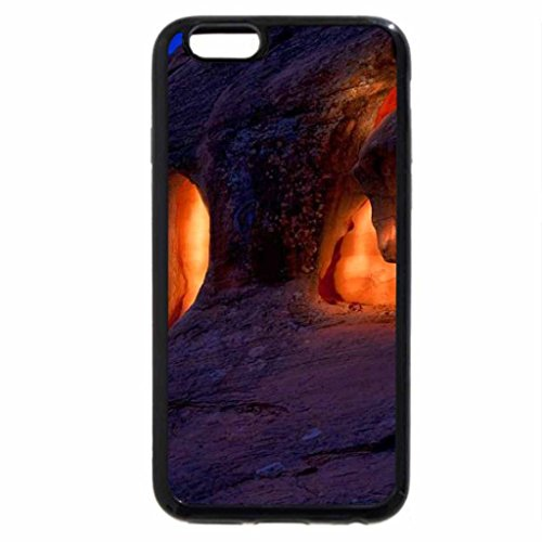 iPhone 6S / iPhone 6 Case (Black) Valley-of-Fire