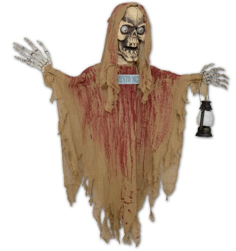 Morbid Mens Hanging Ghoul with Lantern Tan Medium (Buyseasons Toy)