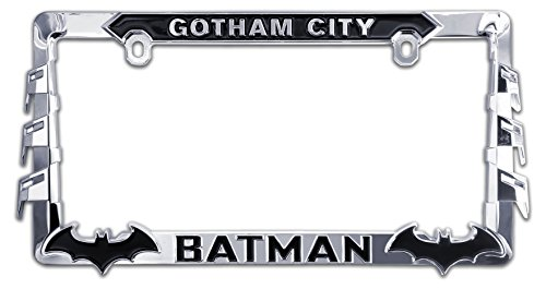 Elektroplate Batman 3D License Plate Frame