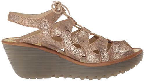 Camel London Luna Fly Sandal Wedge Women's YEXA916FLY Cool vzqU4aBwc