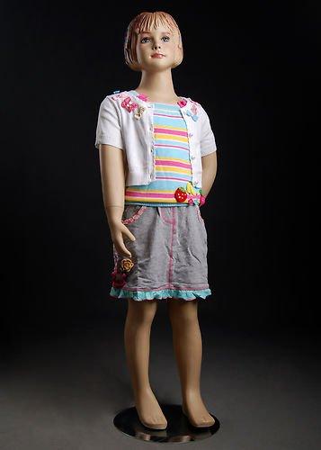 Beautiful Young Child Girl Female Full Body Fiberglass Re...