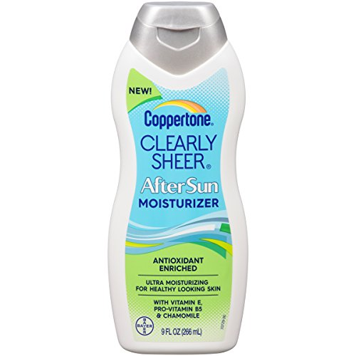 Coppertone ClearlySheer After Sun Lotion, 9 oz from Coppertone