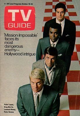 1969-tv-guide-october-18-mission-impossible-leonard-nimoy-richard-burton