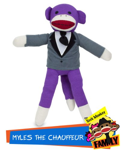 Sock Monkey Family Myles the Chauffeur from The