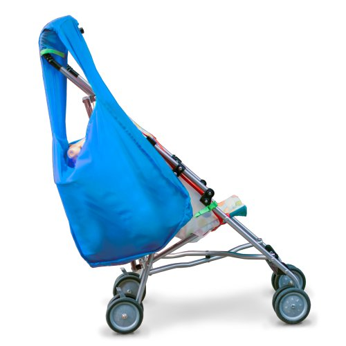 Hatch Things Sureshop Reusable Shopping Bag That Clips On To Keep Strollers Standing, Bright Blue by Hatch Things