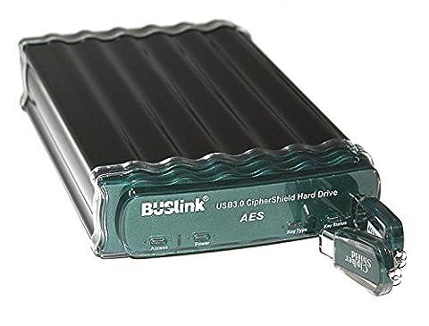 Buslink CipherShield CSE-10T-SU3 10TB FIPS 140-2 256-bit AES USB 3.0/eSATA Hardware Encrypted External Desktop Hard (10tb Usb Drive)