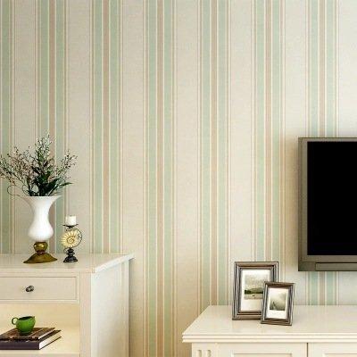 Bandes verticales moderne et simple salon TV fond mur de la ...
