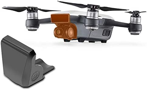 Gray Gimbal Camera Cover for DJI Spark PTZ Camera Front 3D Sensor System Under The Infrared Protective Cover Dustproof Bumprooof
