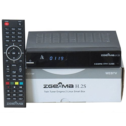 Zgemma H 2s H2s Dual Core Twin Tuner Satellite Receiver With Full 7day EPG...