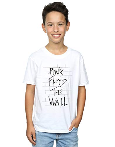 (Pink Floyd Boys The Wall T-Shirt 12-13 Years White)