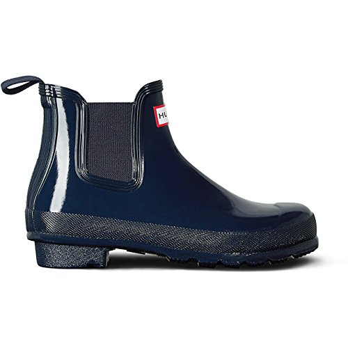 Hunter Original Chelsea Gloss Womens Wellies UK 6 Navy by Hunter