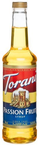 Torani Syrup, Passion Fruit, 25.4-Ounce Bottles (Pack of 3) by Torani