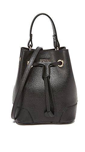 Furla Women's Stacy Mini Drawstring Bag, Onyx, One Size