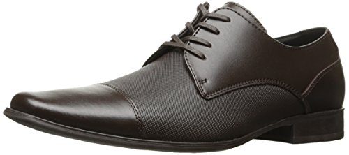 - Calvin Klein Men's Bram Oxford Slip-On Loafer, Dark Brown Diamond Leather, 13 M M US