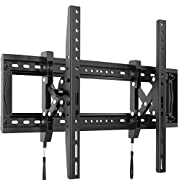 #LightningDeal Advanced Full Tilt Extension TV Wall Mount Bracket for Most 50-90 Inch OLED LCD LED Curved Flat TVs-Extends for Max Tilting On Large TVs, fits 16-24 Inch Studs, Max 165 LBS VESA 600x400mm by Pipishell