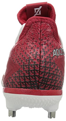 Adizer Performance Adizero Afterburner 4 Power Rot, Silber Met., Ftwr Weiß