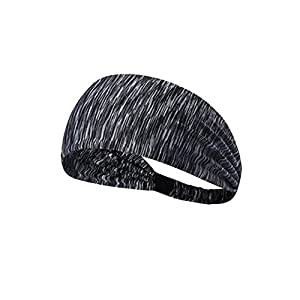 Man/Women Headband Hair Band Accessory Sport Running Head Wrap Hair Accessories Yoga Sports Elastic Headband