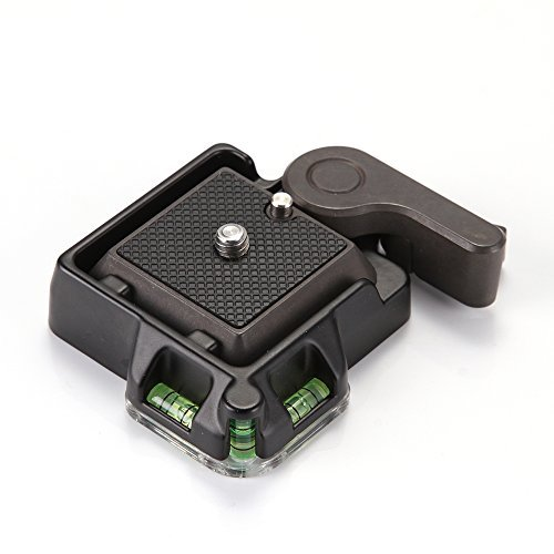Foto4easy Camera Camcorder Tripod Monopod Ball Head Quick Release QR Plate