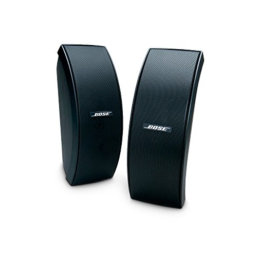 Bose 151 SE Environmental Speakers, elegant outdoor speakers - Black (34103)