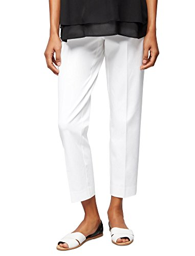(A Pea in the Pod Secret Fit Belly Straight Ankle Maternity Pants)