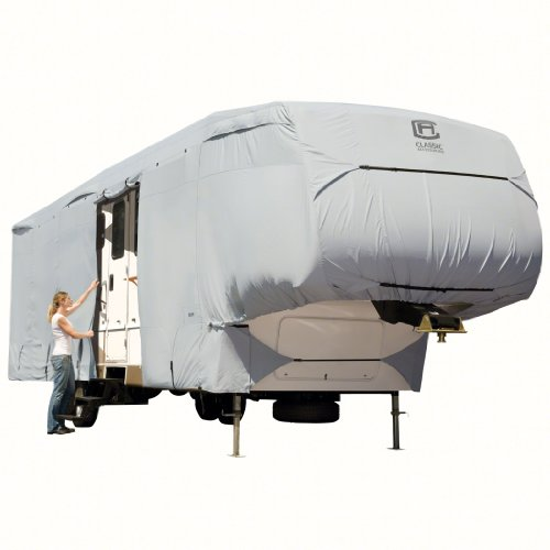 Classic Accessories OverDrive PermaPRO Deluxe Extra Tall 5th Wheel Cover, Fits 33