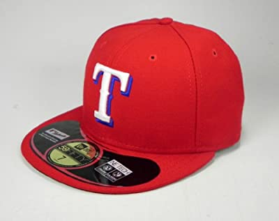 New Era 59fifty Texas Rangers Alternate 2014 on Field Cap Fitted Men Size Hat Ne Tech
