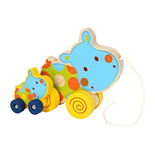 Legler Hippo Pull-Along Toys by Small Foot