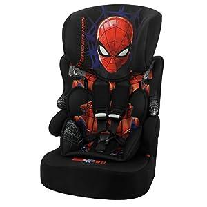 Siège auto BELINE Spiderman groupe 1/2/3 (9-36kg), avec protection latérale – fabriqué en France