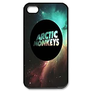 FOR Iphone 4 4S case cover -(DXJ PHONE CASE)-Arctic Monkeys Rock Music Band - Love Music-PATTERN 9