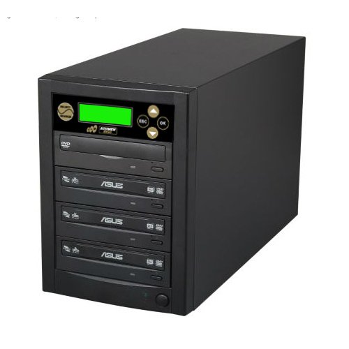 Acumen Disc 1 to 3 Target Discs DVD CD Duplicator Machine with Asus Writers Burners Optical Drives DC03SATASAS by Acumen Disc