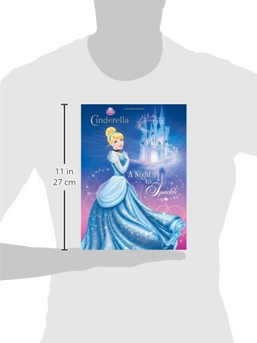 A Night To Sparkle Disney Princess Deluxe Coloring Book