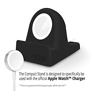 Orzly Charging stand for Apple Watch series 5 / series 4 / series 3 / 2 / 1 44mm / 42mm / 40mm/ 38mm - Nightstand mode edition