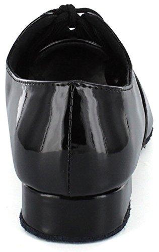DSOL CLASSIC - Zapatillas de danza de piel sintética para niño negro negro negro