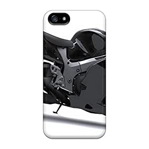 Iphone 5C Cases Slim [ultra Fit] Suzuki Hayabusa Pure Black Protective Cases Covers