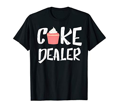 (Cake Dealer Pink Cupcake Frosting Baking Lovers Gift)