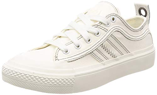 2020 Diesel - Diesel Women's S-ASTICO Low LACE W-Sneakers, Star White, 8.5 M US