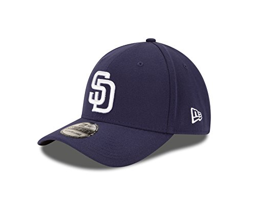 MLB San Diego Padres Team Classic Game 39Thirty Stretch Fit Cap, Blue, Large/X-Large