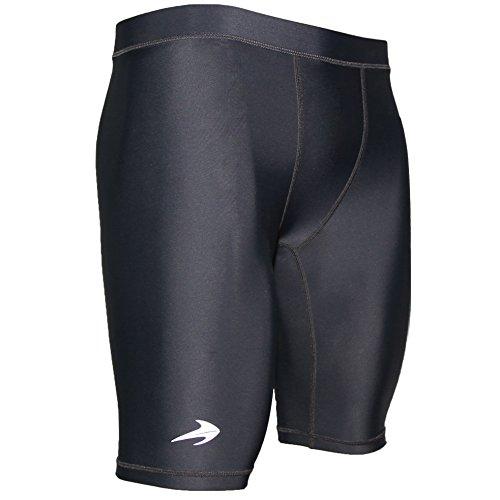 CompressionZ Men's Shorts, 2XL - Black
