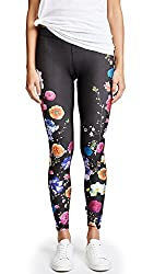 Terez Women's Fresh Floral Performance Leggings, Fresh Floral, X-small
